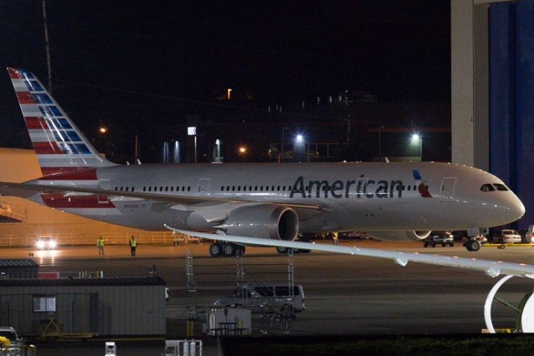 American 787 / JDL / Airways News
