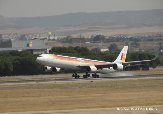 ATERRIZAJE A346 EC-INO 3-OCTB-14 EZE-MAD 1