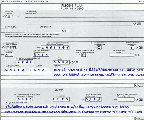 plan de vuelo 1
