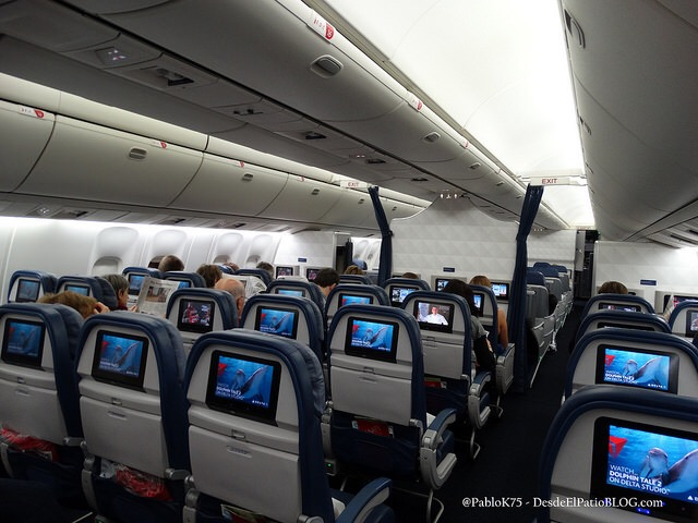 Delta Llegando A Ezeiza Con Boeing 767 400 Desde El Patio