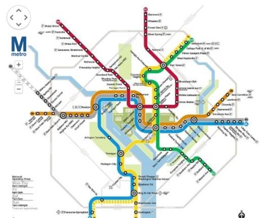 mapa subte